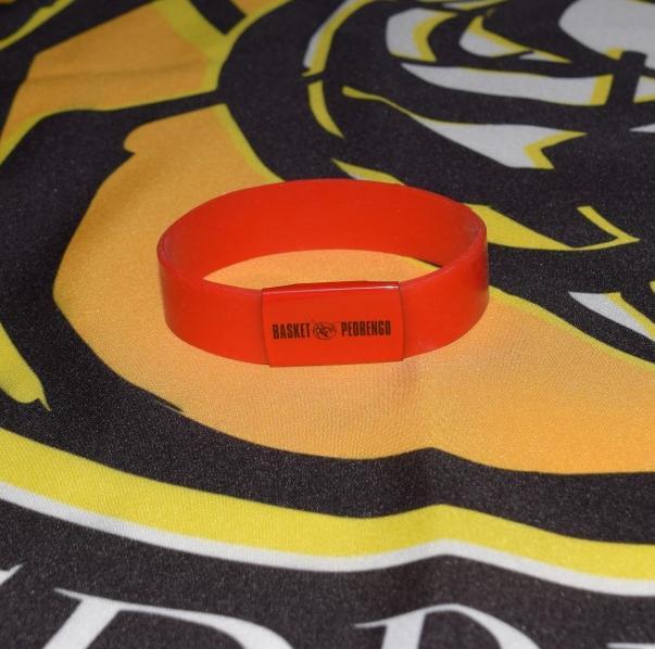 2016-17 Merchandising braccialetto rosso