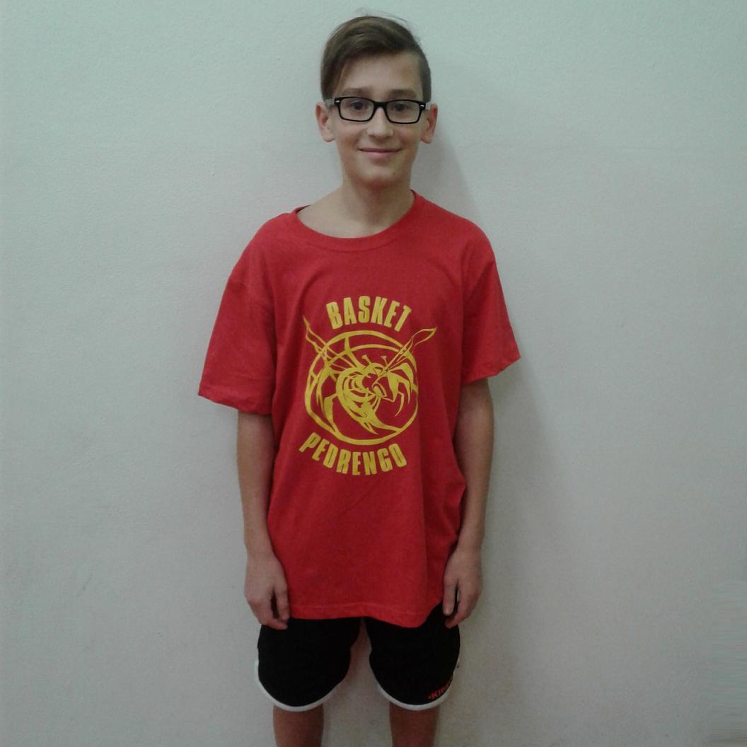 2016-17 Merchandising t-shirt rossa