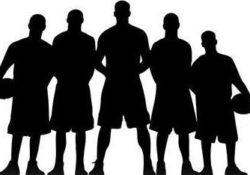 basketball-team-silhouette